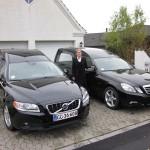 Mercedes og Volvo